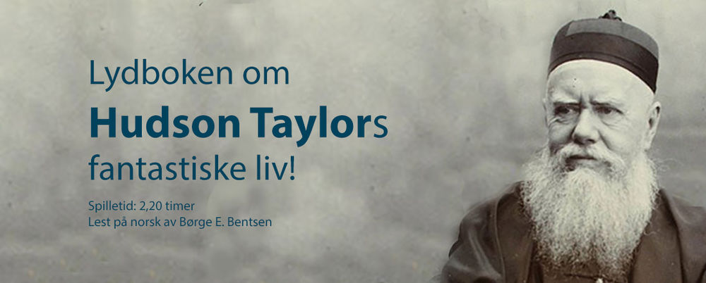 Hudson Taylor biografi på lydbok